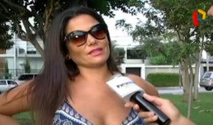 """Daniela Cilloniz: """"Ernesto Jiménez parece el hijo de Janet Barboza"""""""