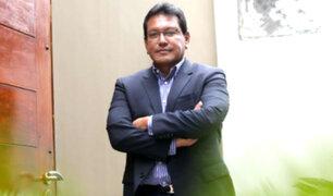Félix Moreno pide al JNE la restitución de sus credenciales como gobernador del Callao