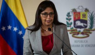 Canciller venezolana acusa a secretario de la OEA de desestabilizar su país