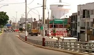 Callao: denuncian señalización irregular en avenida Guardia Chalaca