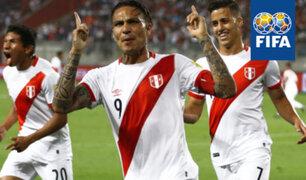 Selección peruana consigue posición histórica en el ranking FIFA