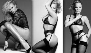 Pamela Anderson, luce espectacular a sus 49 años en lencería