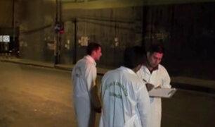 Policía herido durante balacera en Comas con pronóstico reservado