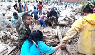 Colombia: ascienden a 303 los muertos por avalancha en Mocoa