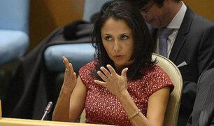 Nadine Heredia: 'Mis agendas fueron robadas, modificadas y llevadas por el mundo'