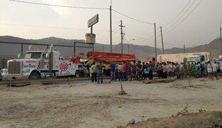 Camión se despista y mata a joven de 19 años en autopista Ramiro Prialé