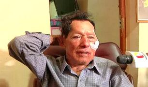La Victoria: golpean brutalmente a anciano para robar su vivienda