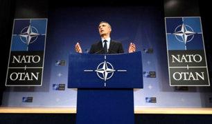 OTAN y Unión Europea respaldan ataque de EEUU a Siria