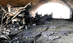 Siria: así quedó base militar bombardeada por Estados Unidos