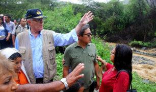 PPK viaja a Huarmey para inspeccionar obras tras inundaciones