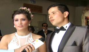 San Borja: novios estafados por organizadora de eventos logran casarse