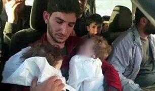 Siria: el dramático testimonio del padre de mellizos muertos tras ataque químico