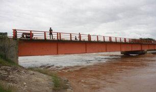 Preocupación por aumento del caudal del río Tumbes