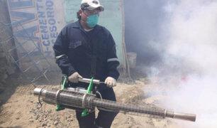 Minsa fumigó 12 mil viviendas en Chincha para controlar el dengue