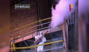 La Victoria: realizan trabajos de fumigación por gran cantidad de roedores en av. Grau