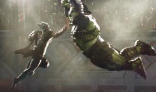 """Thor contra Hulk: se revela el primer tráiler de """"Ragnarok"""""""