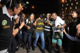 Sede Dirincri: continúa interrogatorio a detenido por asesinato de José Yactayo