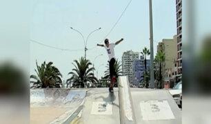 Angelo Caro: campeón peruano de skate va al mundial en Brasil