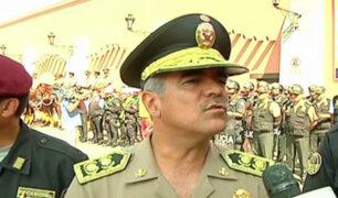 Semana Santa: cinco mil policías resguardarán el orden en iglesias de Lima