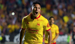 Raúl Ruidíaz recibe elogios tras anotar golazo con Morelia