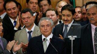 Brasil: nueve ministros de Michel Temer serán investigados por corrupción