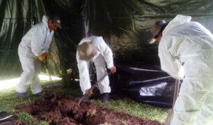 Lurín: exhuman restos del periodista José Yactayo Rodríguez