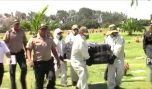 Caso Yactayo: pruebas determinarán causa de su muerte