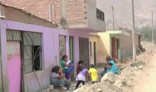 Chosica: damnificados se resisten a dejar lugares devastados