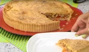 Aprende a preparar unas deliciosas empanadas gallegas con Angélica Sasaki