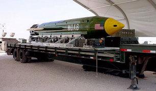 GBU-43/B, la bomba no nuclear más poderosa de Estados Unidos