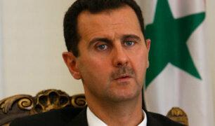 Bashar Al Assad sostiene que EEUU inventó ataque con armas químicas