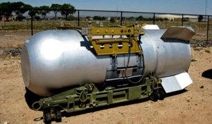 """Rusia advierte que tendría en su poder al """"padre de todas las bombas"""""""