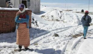 Senamhi: nevadas comenzarán desde este domingo en la sierra sur