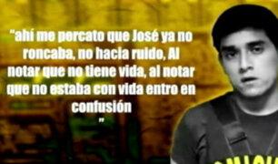 Caso Yactayo: La reconstrucción del crimen
