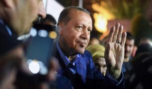 Presidente Recep Tayyip Erdogan gana referéndum en Turquía