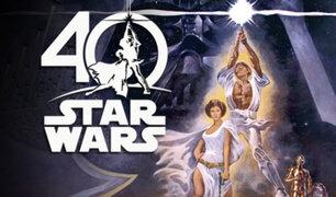 """""""Star Wars"""" celebra el 40 aniversario del estreno de su primer film"""