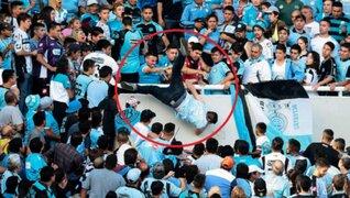 Murió hincha de Belgrano que fue lanzado desde la tribuna en Argentina