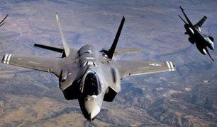 EE. UU. despliega sus aviones F-35 por primera vez en Europa