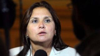 Marisol Pérez Tello confirma renuncia de procuradoras Julia Príncipe y Katherine Ampuero
