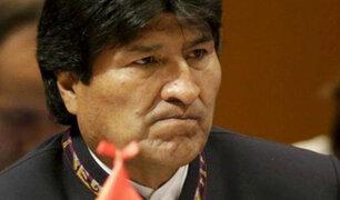 Bolivia: oposición rechaza reelección de Evo Morales para el 2019