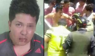 Pobladores golpean a sujeto que agredió a mujer en hostal de Tumbes