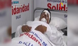 Pasajero herido tras sufrir asalto cuando viajaba en alimentador de Metropolitano