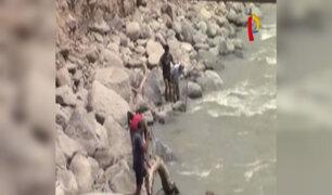 Continúa búsqueda de jóvenes que desaparecieron en río Rímac