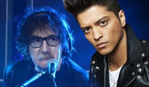 """Charly García acusa de plagio a Bruno Mars por tema """"Uptown Funky"""""""