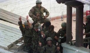 """Congreso declaró """"Héroes de la Democracia"""" a comandos Chavín de Huántar"""