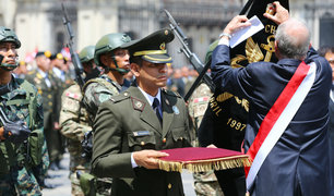 """Así fue el homenaje a los comandos """"Chavín de Huántar"""""""