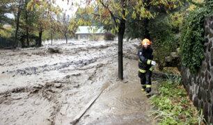 Chile: torrenciales lluvias dejan sin agua a 27 comunas de Santiago