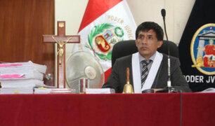Refuerzan seguridad del juez Richard Concepción Carhuancho