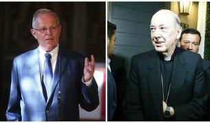 Chavín de Huántar: PPK resaltó intervención del Cardenal Cipriani