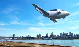 Taxi volador realiza con éxito su primer viaje de prueba
